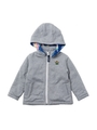 HOODED ZIP UP JUMPER GALAXY (12M〜3T)/アッシュ