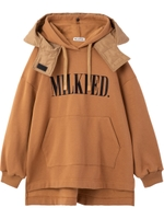 DOUBLE LAYER HOODED TOP/ベージュ